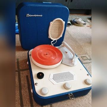 Gramofon Unitra Fonica Bambino - Unikat!