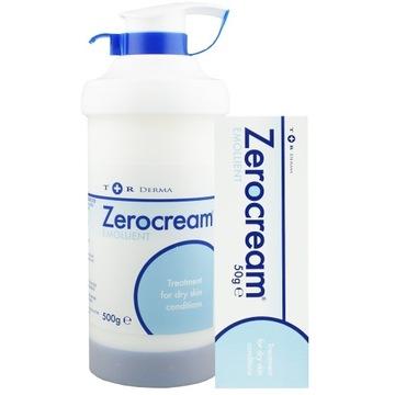ZEROCREAM EMOLLIENT 500g AZS, EGZEMA, ŁUSZCZYCA