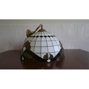 Lampa wisząca witraż średnica 50 cm