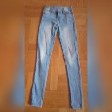 skinny spodnie rozm xxs