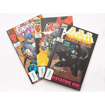 kolekcja Punisher Mega Marvel 4/94 5/95 6/95