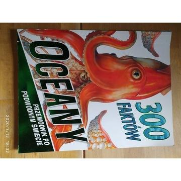 Książka - 300 faktów oceany