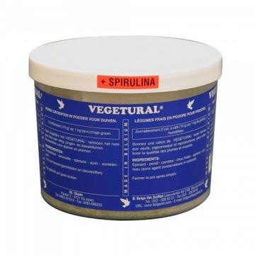 Vegetural spirulina - świeże warzywa w proszku.