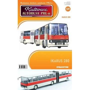 IKARUS 280-Kultowe Autobusy PRL-u (numer 59) 1:72