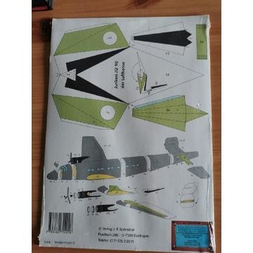 Zabawka do sklejania Junkers JU90