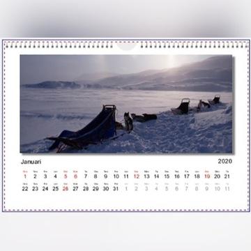 Kalendarz Foto Ścienny 2020 madejski-art.com