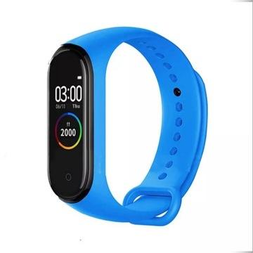 Smartband xiao m4 bluetooth niebieski