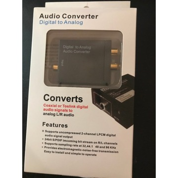 Konwerter Audio-Analog
