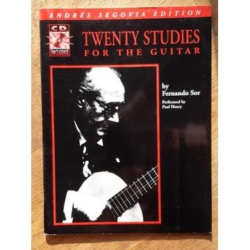 Fernando Sor - 20 etiud na gitarę (brak CD)