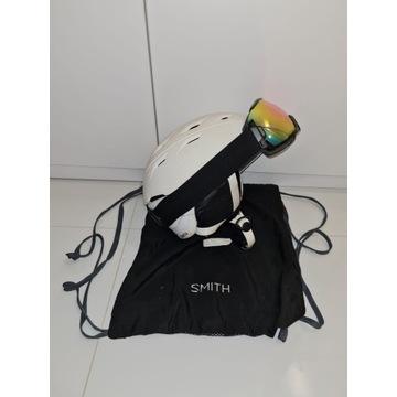 Kask narciarski SMITH, komplet, gratis!
