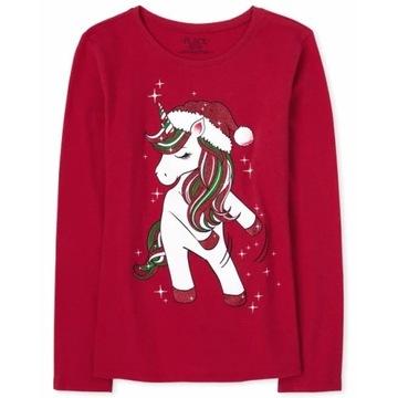 Childrens Place bluzeczka Dancing Unicorn 10- lat