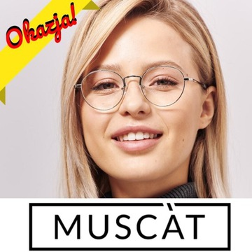 Okulary MUSCAT oryginalne, damskie, męskie CHARLIE