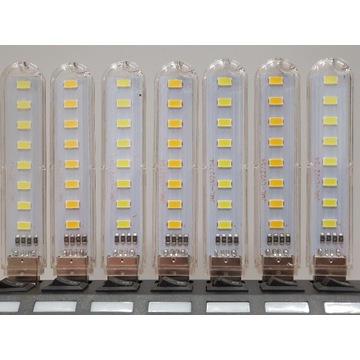Lampka USB 8x LED