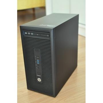 Komp HP, i5, 8GB DDR4, SSD 256GB+1TB, AMD Radeon