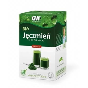 MŁODY JĘCZMIEŃ BIO GreenWays - suszony sok 300 g.