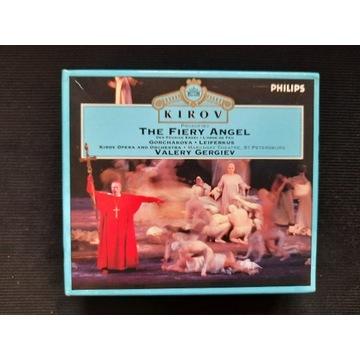 PROKOFIEV The fiery angel Gergiev Philips UNIKAT