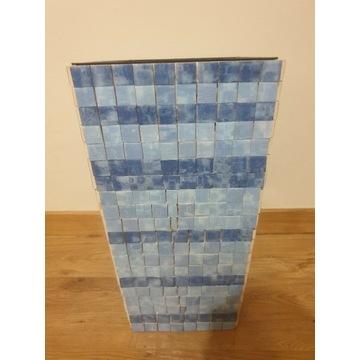 Wysoka 50 cm doniczka Osłonka ceramiczna cube