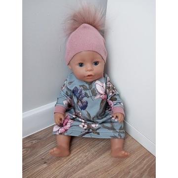 Sukienka dresowa dla lalki Baby Born