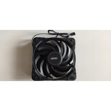 Wentylator MSI 120mm 12025L Black