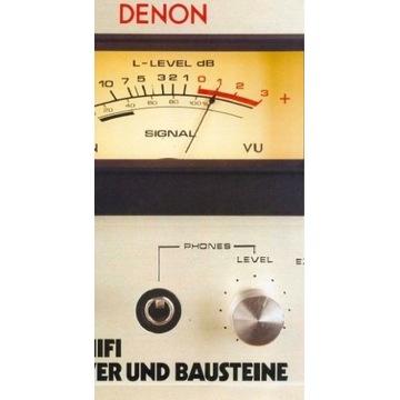 Katalog DENON z 1977, wzmacniacze
