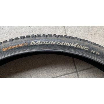 "Opona Continental MountainKing 2.2 29"" zwijana"