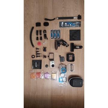 GoPro 3 black z akcesoriami
