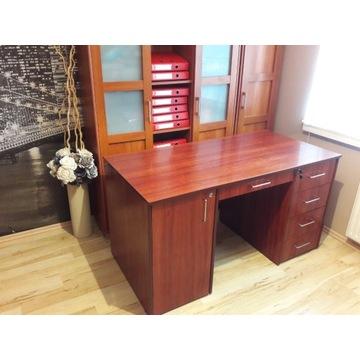 Solidne biurko zamykane na klucz
