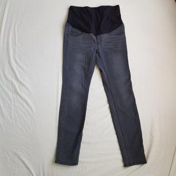 Spodnie jeansy ciążowe H&M L 40 czarne
