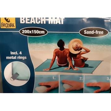 Mata plażowa 150x200