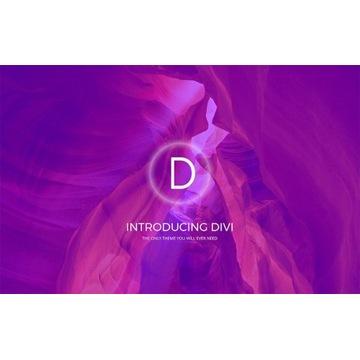 DIVI Visual Builder motywu/szablonu do Wordpress