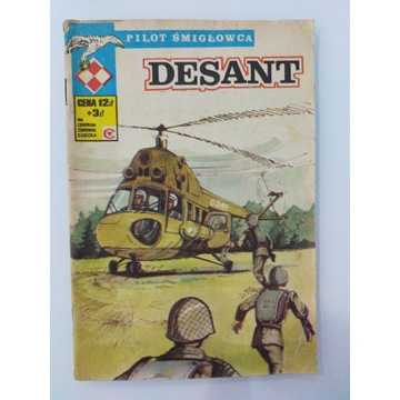 Pilot śmigłowca Desant wydanie pierwsze