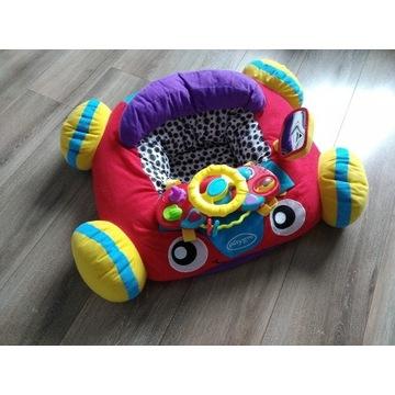 Pluszowe interaktywne autko do siedzenia play gro