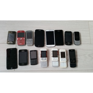 Zestaw 15 telefonów - Samsung S3 I9300, I9305