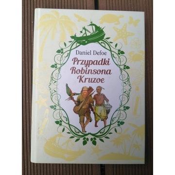 Książka Przypadki Robinsona Kruzoe Crusoe