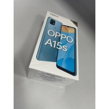 Smartfon Oppo A15s 4 GB / 64 GB czarny NOWY OKAZJA