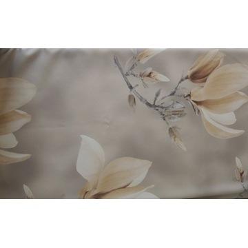 Zasłona gotowa magnolie kwiaty140x240