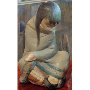 Lladro Eskimoska dziewczyna 2008.30 duża ok. 28cm