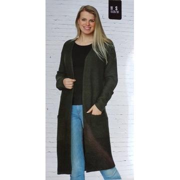 Nowy Kardigan Sweter Długi Jesień S, M, L