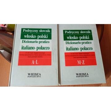 Podręczny słownik włosko-polski (2 tomy)