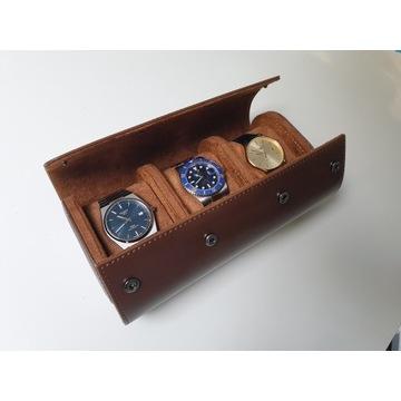 Etui na zegarki   Etui podróżne   Rolka na zegarki