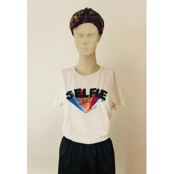 T-shirt, bluzka, koszulka Stradivarius, kolorowe