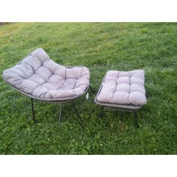 Siesta Meven fotel z podnóżkiem 6652572