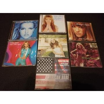7 x CD BRITNEY SPEARS Pop BABY Albumy Single