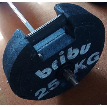 Obciążenia 25 kg 4zl za kilogram olimpijskie
