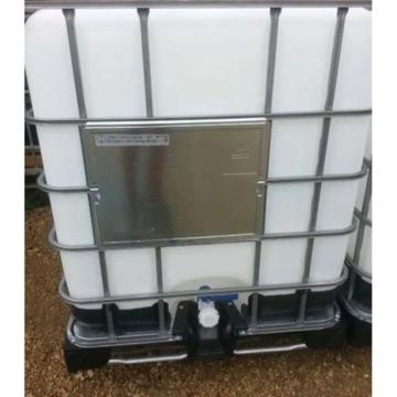 Zbiornik 1000 l mauzer 1m3 do paliwa deszczówki