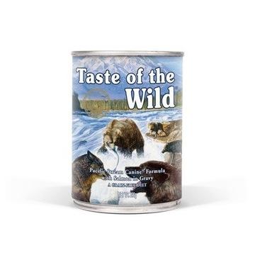 Taste of the Wild Pacific Stream Canine 390g x8szt