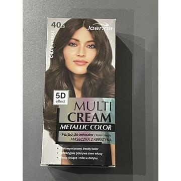 Farba do włosów Joanna Multi Cream nr 40.5