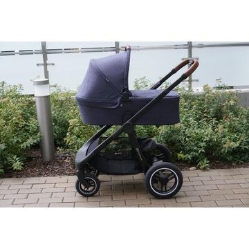 Wielofunkcyjny wózek terenowy, idealny na zimę