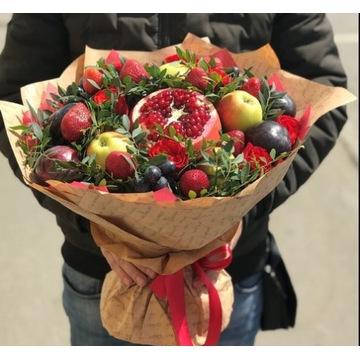 bukiet z owoców na dzień matki, urodziny, imieniny