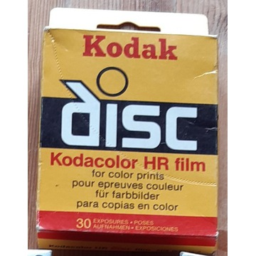 Film Kodacolor HR Kodak Disc